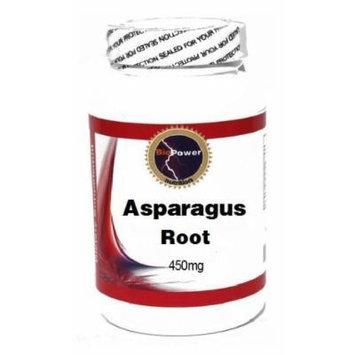 Asparagus Root (Tian Men Dong) 450mg 180 Capsules # BioPower