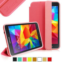 Fintie Ultra Slim Lightweight All-around Protection Omni Case Cover for Samsung Galaxy Tab 4 8.0 inch Tablet, Magenta
