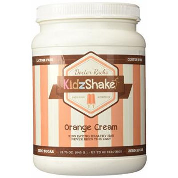 KidzShake - Nutritional Shake Orange Cream with plant-based vitamins and probiotics - 22.75 oz.