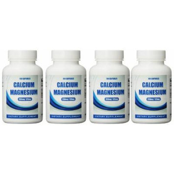 Eden Pond Cal Mag Supplement,100 Capsules, 4 Count