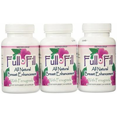 Eden Pond Full Fill All Natural Breast Enhancement, 90 Capsules, 3 Count