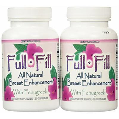 Eden Pond Full Fill All Natural Breast Enhancement, 90 Capsules, 2 Count