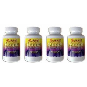 Eden Pond Acai Maqui Weight Loss Pills, 60 Capsules, 4 Count