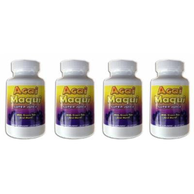 Eden Pond Acai Maqui Weight Loss Pills, 60 Capsules, 4 Count