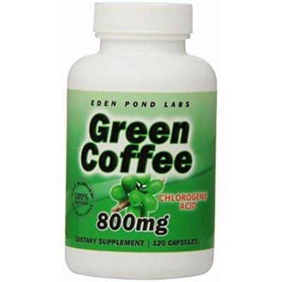Eden Pond Ultimate Green Coffee Fat Burning Machine, 2 Count