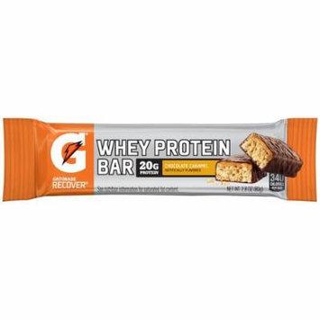 Gatorade Whey Protein Recover Bars Chocolate Caramel 2.8oz (4 Pack)