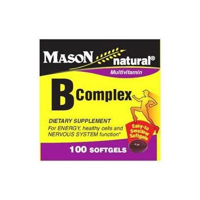 Mason Natural, Vitamin B Complex, 100 Softgels