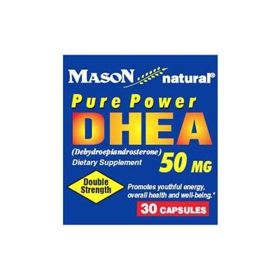 Mason Natural, Dhea 50 mg, 30 Capsules