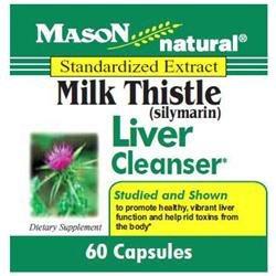 Mason Natural, Milk Thistle 150 mg, 60 Capsules