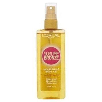 L'Oréal Paris Sublime Bronze Nourishing Body Oil Tan Optimiser