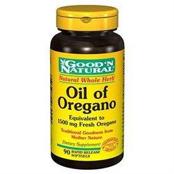 Good 'N Natural - Oil of Oregano 1500 mg. - 90 Softgels