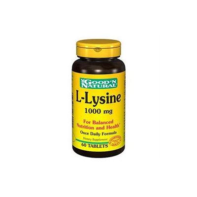 Good 'N Natural - L-Lysine 1000 mg. - 60 Tablets