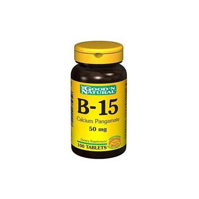 Good 'N Natural, Calcium Pangamate 50 mg (B-15), 100 Tablets