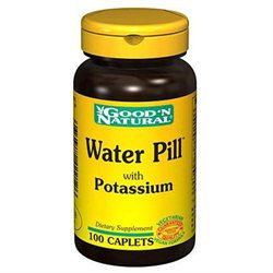Good 'N Natural - Water Pill Natural Diuretic - 100 Caplets