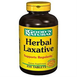 Good 'N Natural - Herbal Laxative - 250 Tablets