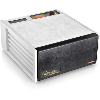 Excalibur 5-Tray Dehydrator Deluxe, White