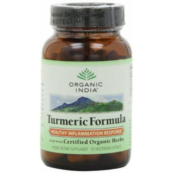 ORGANIC INDIA TURMERIC (270 Count)