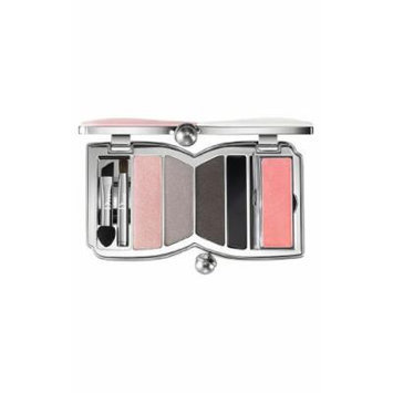 DIOR CHERIE BOW Makeup Palette For Glowing EYES & LIPS : Eyeshadows , Eyeliner & Lip Gloss 001 ROSE POUDRE