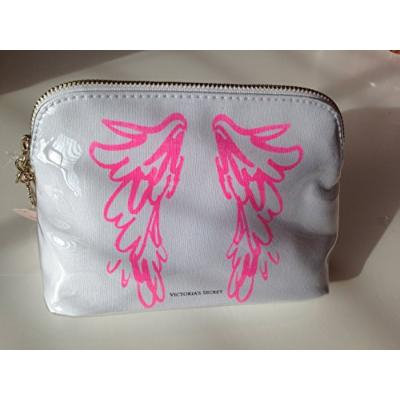 Victoria's Secret Pink Angel Wings Make-up Cosmetic Bag Travel Case