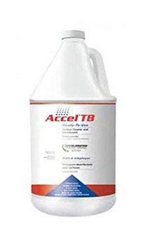 Anivac Corp ACCEL ATB1242007 Cleaner and Disinfectant, Bottle, PK 4