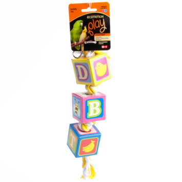 Ecotrition eCOTRiTiON Shreddable Cube Activity Bird Toy