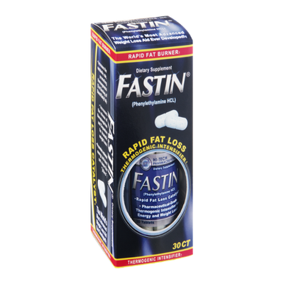 Fastin Dietary Supplement Tablets - 30 CT