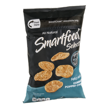 Smartfood Selects All Natural Chips Hummus Popped Feta Herb