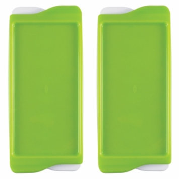 OXO tot Baby Food Freezer Tray, Green, 2 ea