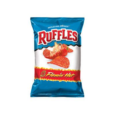 Ruffles® Potato Chips Flamin' Hot® Flavored