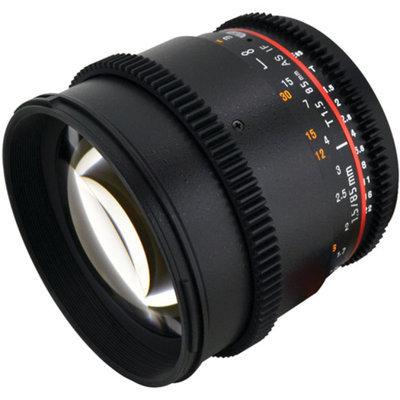Rokinon CV85M-C 85Mm T1.5 Cine Lens/Canon