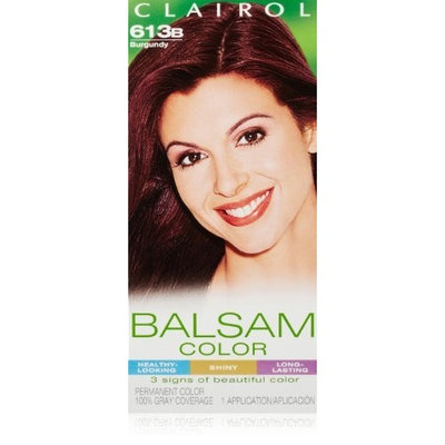 Clairol Balsam Hair Color 613b Burgundy 1 Kit (Pack of 3)