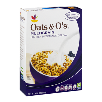 Ahold Oats & O's Multigrain Lightly Sweetened Cereal