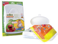 Neat Solutions Table Topper with Travel Case - Sesame Street - 50 ct