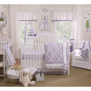 Petit Tresor Papillion 4pc Crib Bedding Set by PetitTresor