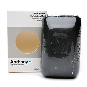 Anthony Logistics for Men Mud Scrub Exfoliating Bar