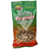 Energy Club Butter Toffee Peanuts, 6.75-Ounce Bags (Pack of 6)