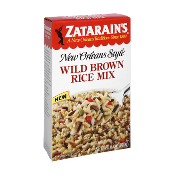 Zatarain's Wild Brown Rice Mix