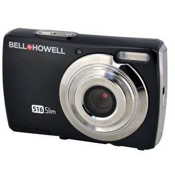 Elite Brands Inc. Bell+howell S16 Ultra Slim 16MP Digital Camera (Black)