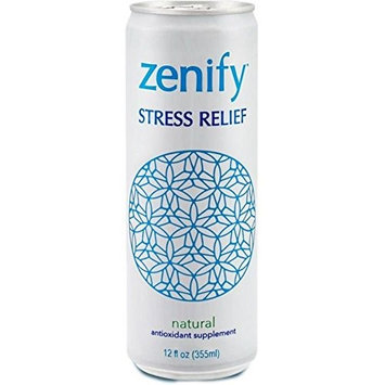 Zenify DRINK, NATRL STRSS RELF, SF, (Pack of 12)