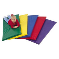 The Children's Factory Children's Factory Rainbow Rest Mat with Name Tag Pocket