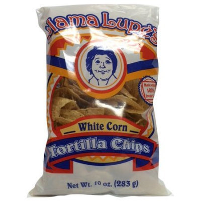 Tortilla King Inc. Mama Lupes Tortilla Chips White Corn 10oz
