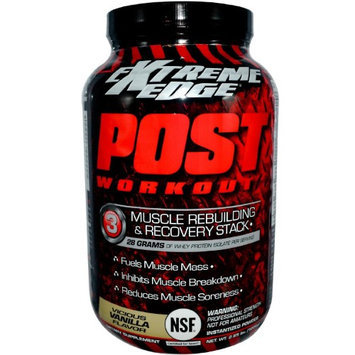 Extreme Edge Post Workout Vicious Vanilla Bluebonnet 2.65 lbs Powder