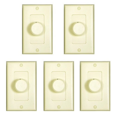 Theater Solutions Dial Volume Control - Volume Control - Almond