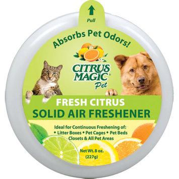 Citrus Magic Pet 8-Ounce Solid Air Freshener, 3 Pack, Fresh Citrus