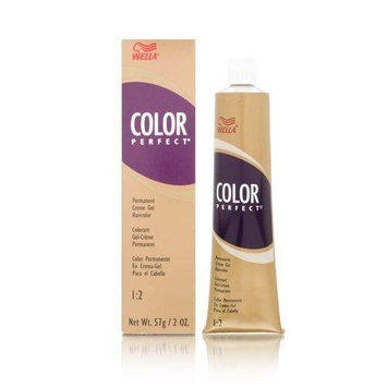 Wella Color Perfect Permanent Creme Gel 1:2 (Tube) 4G Medium Golden Brown
