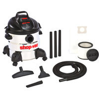 Shop-Vac 8 Gallon 5.5 Peak HP Stainless Steel Wet / Dry Vacuum