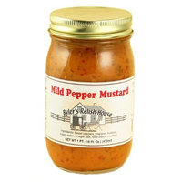 Byler's Relish House Homemade Amish Country Mild Pepper Mustard 16 oz.