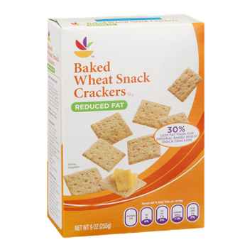 Ahold Baked Wheat Snack Crackers Reduced Fat