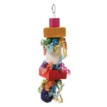 All Living ThingsA Loofah Wood Bird Toy