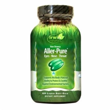 Irwin Naturals Non-Drowsy Aller-Pure Dietary Supplement Liquid Softgels